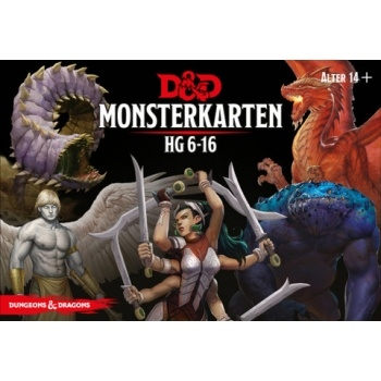 Dungeons & Dragons - Monster Deck 6-16 - DE
